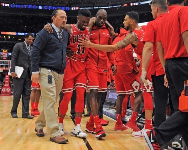 Bulls guard David Nwaba suffers ankle sprain-Dr. Morse = Chicago Bulls guard David Nwaba expected to miss 2-4 weeks with.....