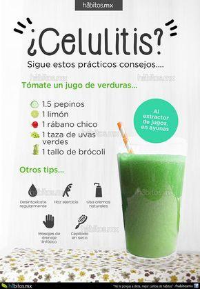 Hábitos Health Coaching   JUGO DE VERDURAS PARA REDUCIR CELULITIS