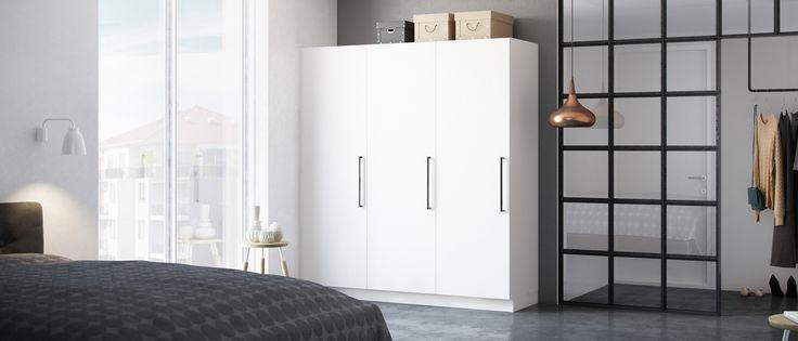 Milk garderobe er en perfekt opbevaringsløsning til kontoret eller børneværelset