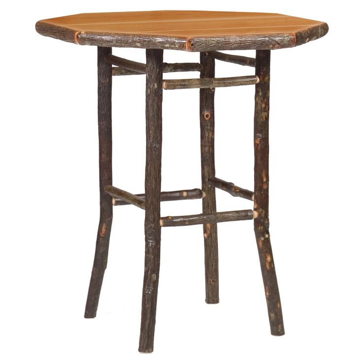Fireside Lodge Hickory Round Pub Table - 86200