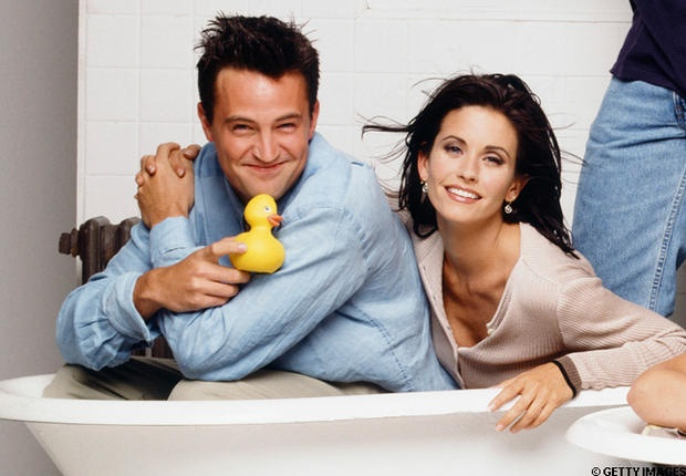 Courteney Cox et Matthew Perry, Friends de longue date