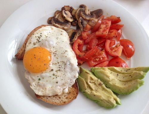Simple, easy breakfast idea