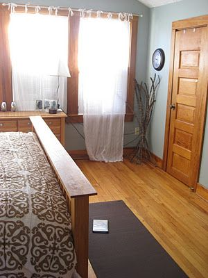 Natural wood trim isn't usually my thing, but I might have to love it...new house???
