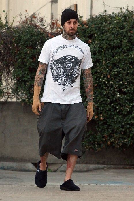 travis barker style - Google Search