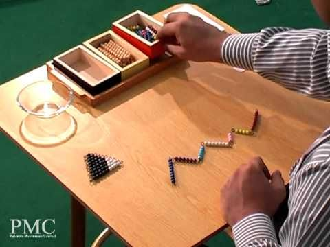 Montessori Positive Snake Game - YouTube  Video for the addition snake game when a child is just starting to learn addition.
