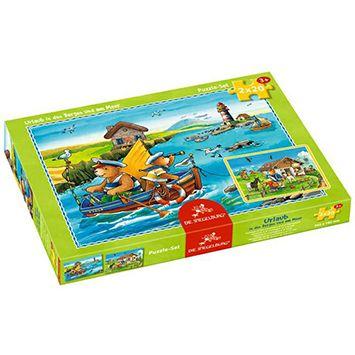 2 Παζλ Βουνό – Θάλασσα (20 τμχ) | Το Ξύλινο Αλογάκι - παιχνίδια για παιδιά