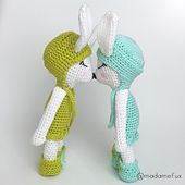 Harriet The Montain Hare pattern by Ina Rho