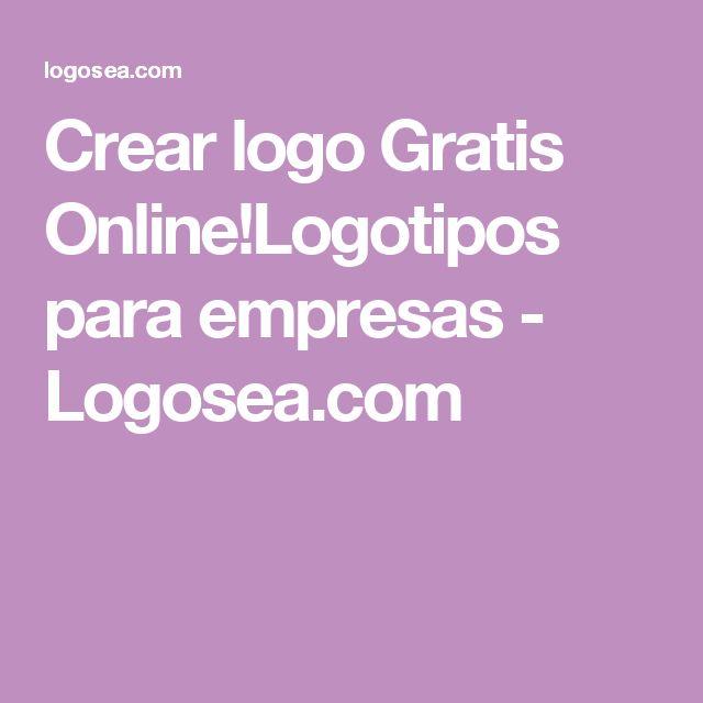 Crear logo Gratis Online!Logotipos para empresas - Logosea.com