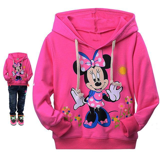 Baru musim gugur hello kitty anak perempuan baju panjang hoodies kaus anak-anak pakaian
