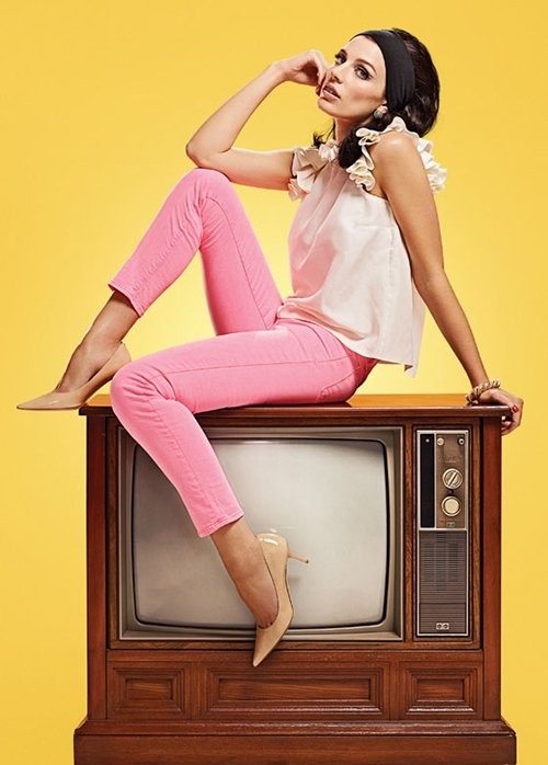 Jessica Pare, vintage but so modern. #modcloth #styleicon