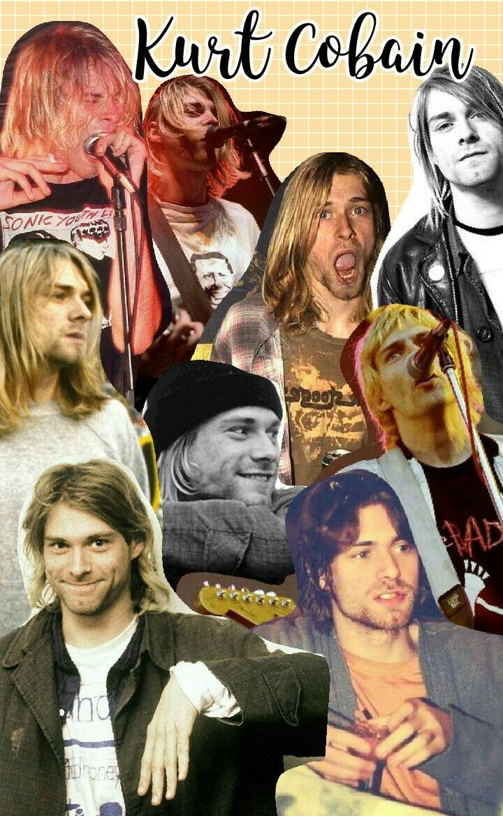 Kurt Cobain Tumblr Collage