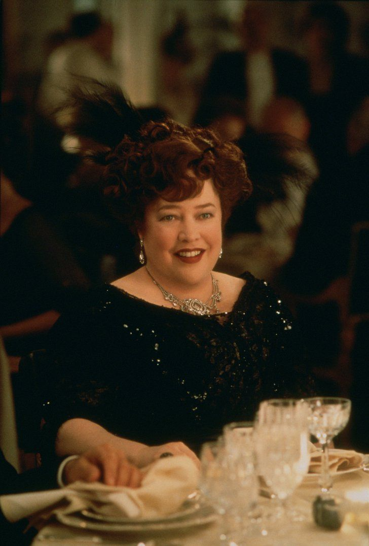 Pin for Later: Swoon Over These Original Titanic Pictures  Kathy Bates in Titanic.