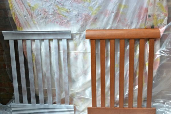 How to Spray Paint a Brown Crib White | A Step In The Journey