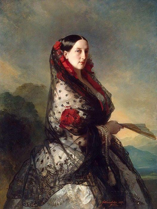 Великая княгиня Мария Николаевна. Франц Ксавьер Винтерхальтер