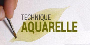 Eine einfache und unterhaltsame Art, Aquarell zu lernen