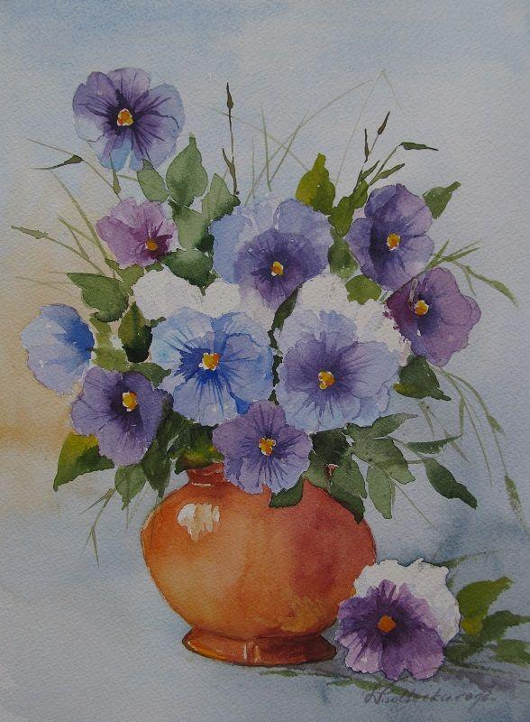 W. Podlecka. Kwiatuszki