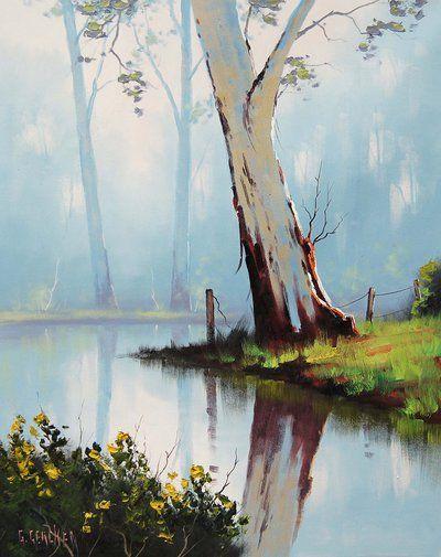 Misty River Gum by artsaus.deviantart.com on @deviantART