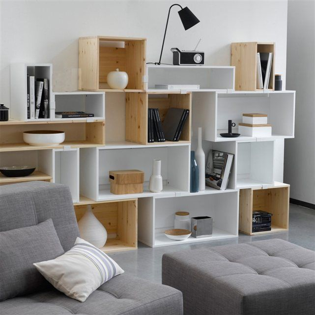 les 25 meilleures id es de la cat gorie etagere cube bois sur pinterest meuble ikea cube. Black Bedroom Furniture Sets. Home Design Ideas