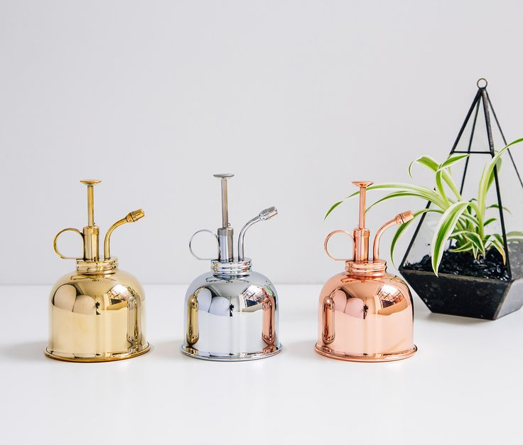 5 Pretty Plant Misters For Your Kitchen Herb Garden