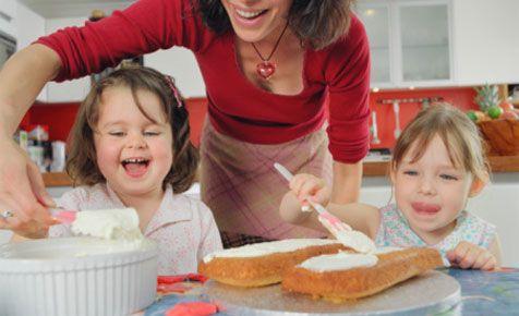 mum delivering kids birthday cake - Google Search