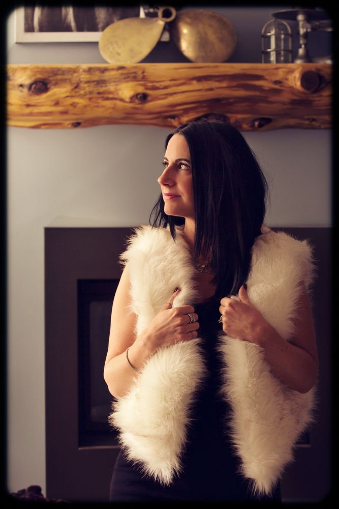 Image of Extra Soft Faux Fur Vest - White