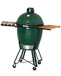 "Big Green Egg on Food & Wine's ""Best Grills"" list. This one can be used as a grill AND a smoker. Double the awesomeness. ($799)"