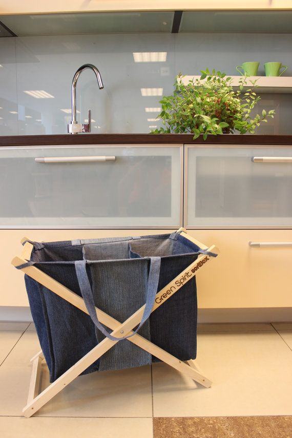 We just released our new ecological sortBOX from recycled Jeans by GreenSpiritLT…