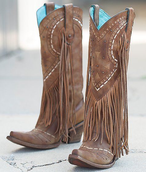 1000  ideas about Fringe Cowboy Boots on Pinterest | Fringe boots