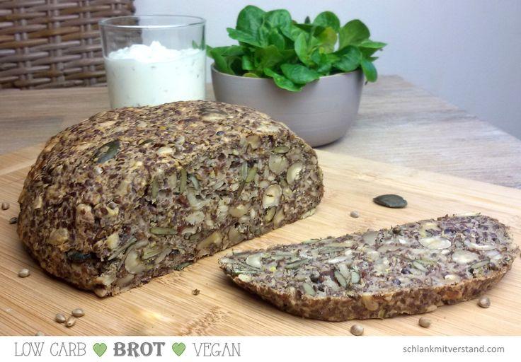 low carb Brot vegan – schlank mit verstand