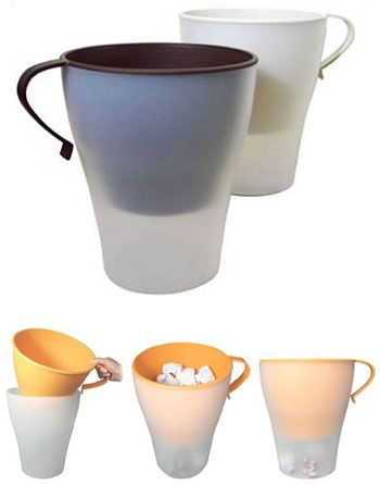Yoko Hiraguchi: Ideaco Giant Trash Can Mug