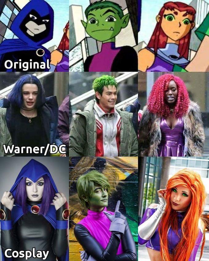 Cartoon, Company, Cosplay  Jk  Teen Titans Cosplay, Teen -3644