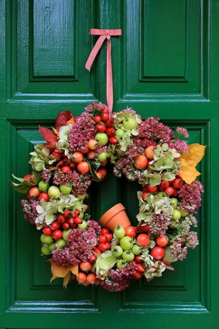 rajski wianuszek w kolorach jesieni...