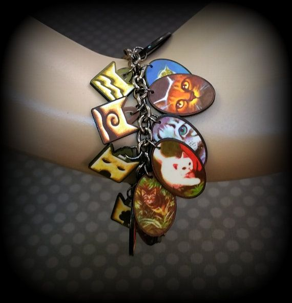 Warrior Cats Jewelry Bracelet Fan Fandom by FauxShowArt