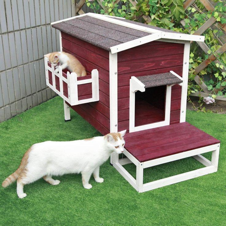 Refugio Casa Para Gatos Al Aire Libre Outdoor Cat Shelter Outside Cat House Outdoor Cat House