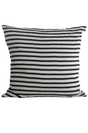 Design Vintage | Grey Striped Cushion | House Doctor | Cushion