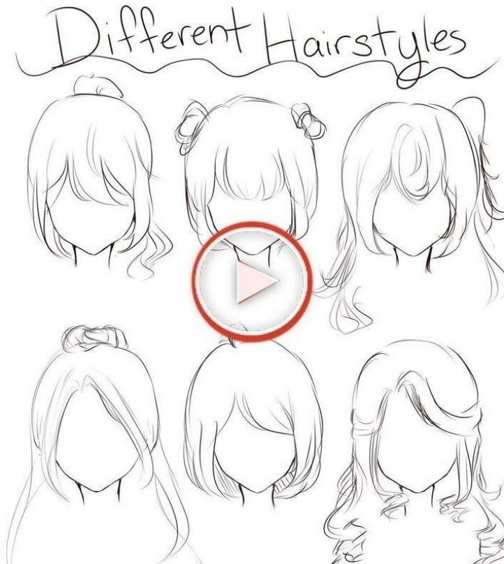 Hairstyle Reference Drawing Female Hairstyle Reference Drawing Female Hairstyle Referenc Female Anime Hairstyles Anime Hair Anime Hairstyles In Real Life