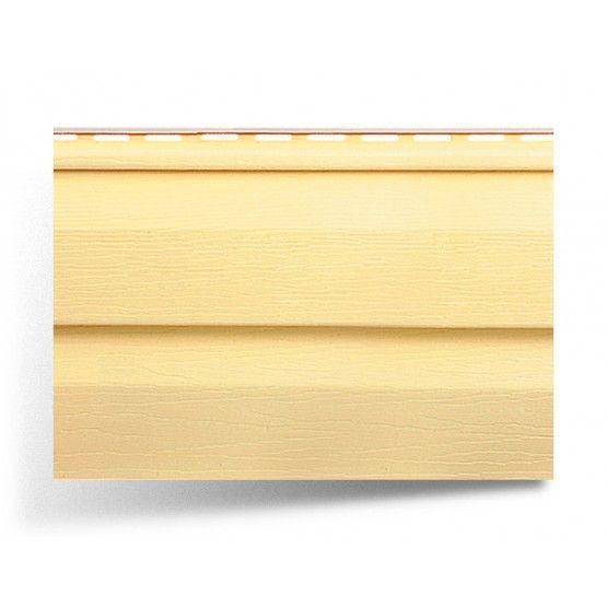 Виниловый сайдинг Аляска желтый