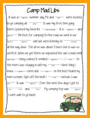 Camping Activities - Simple Camping Games for Children and Adults -- Click image for more details. #encouraging