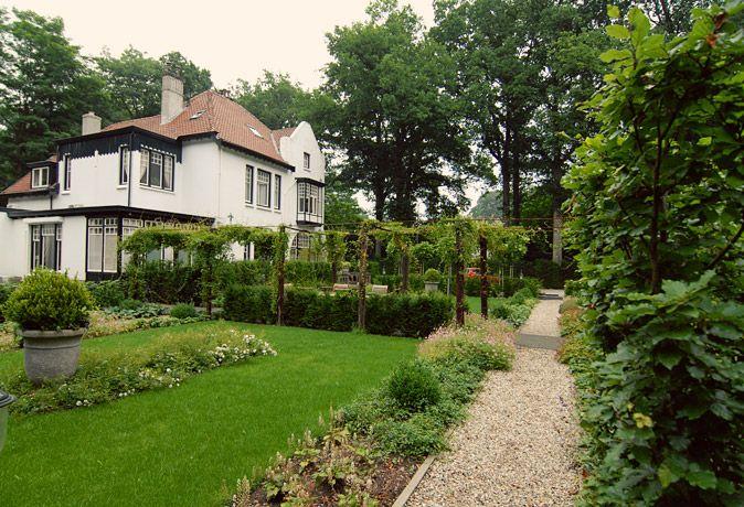 Villatuinen middelgrote en grote tuinen