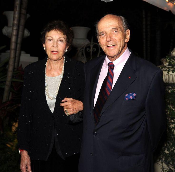 HRH Princess Maria Pia de Savoie and HRH Prince Michel de Bourbon Parme