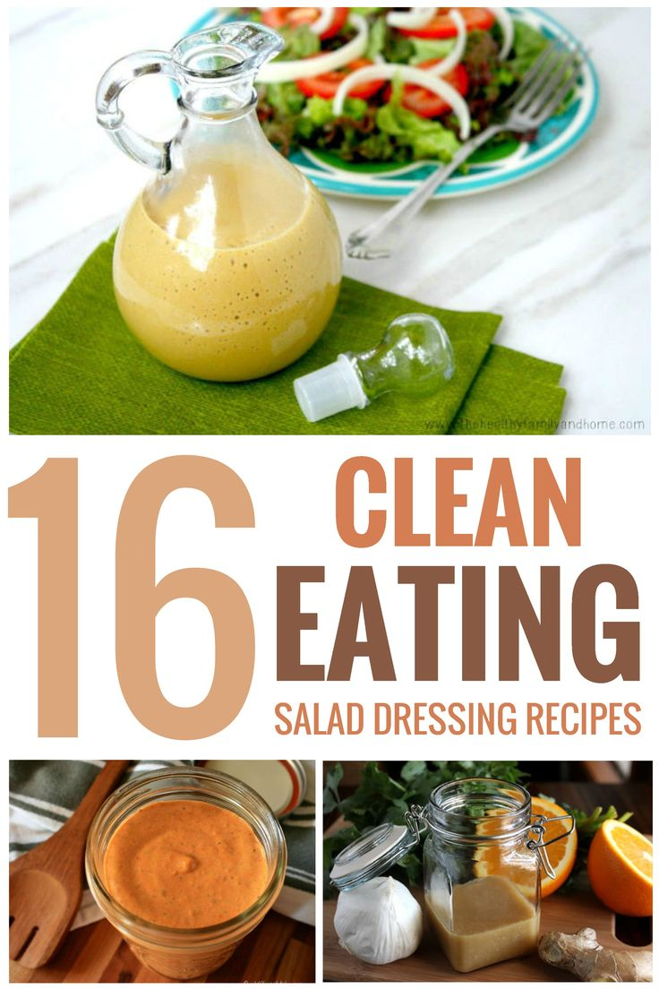 I love salads but finding healthy salad dressings can be a challenge. These healthy clean eating salad dressing recipes are just what I need to go with my favorite salads!