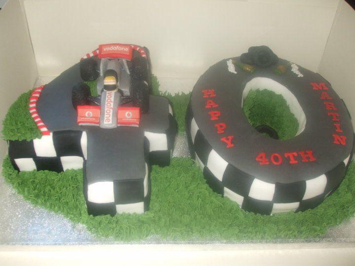 Car Shaped Cakes Th Birthday