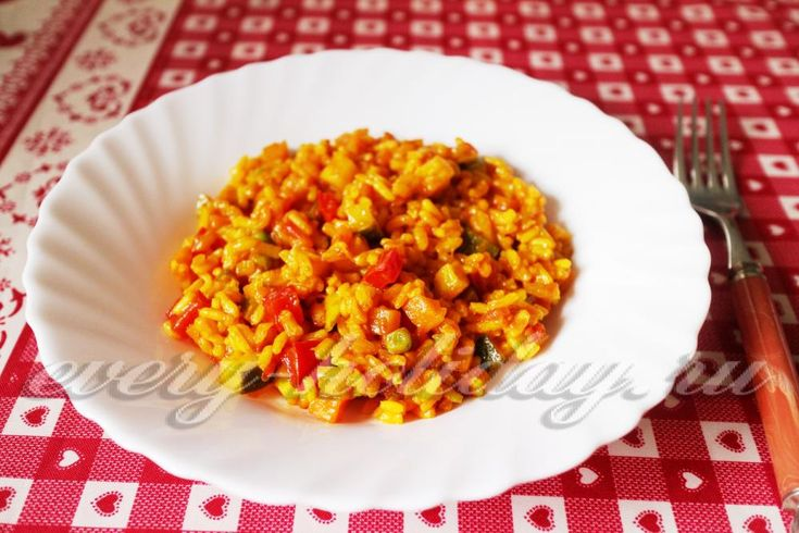 Вегетарианский рис карри