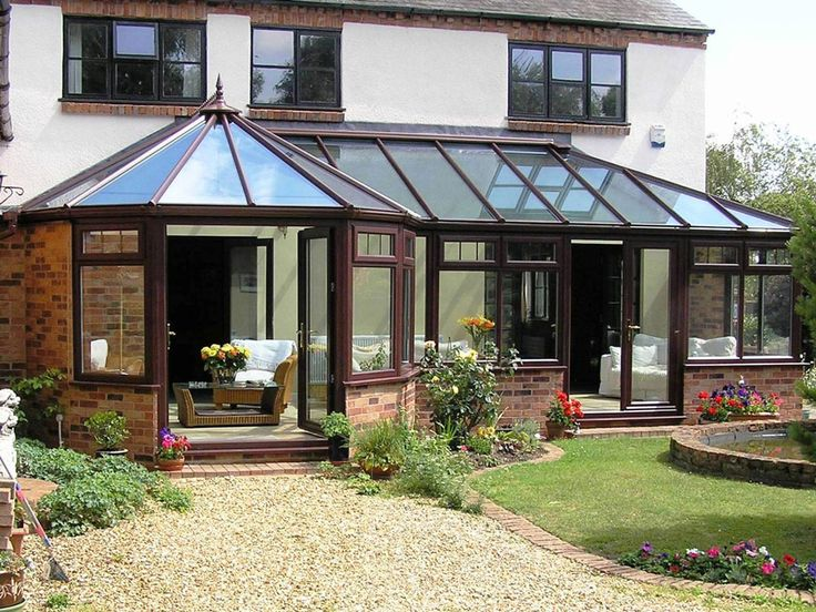 P-Shaped-conservatories
