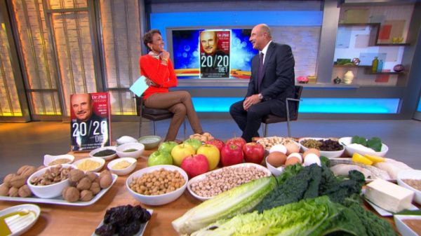 "Watch the video Dr. Phil's 20 Foods to Eat to Lose Weight on Yahoo Good Morning America . ""The 20/20 Diet"" promises weight loss using 20 key foods."