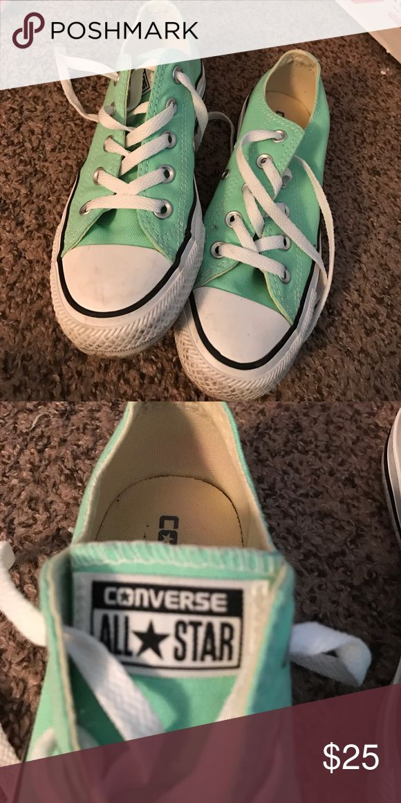 Mint converse size 6 Mint converse women's size 6. Only worn a few times. Converse Shoes Sneakers