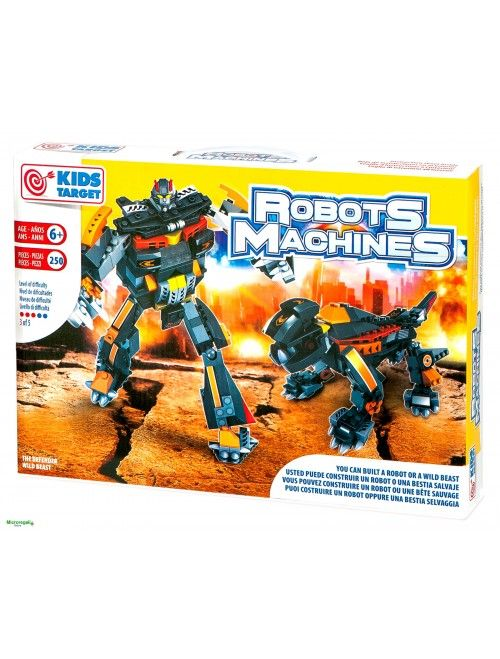 costruzioni robot due in uno mattoncini compatibili Lego
