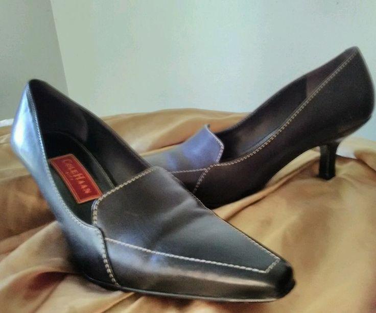 Cole Haan Womens Shoes City black heels sz 8 AA #ColeHaan #PumpsClassics #WeartoWork
