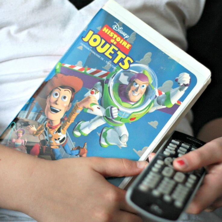 VHS Histoire de Jouet Francais, Film Histoire de Jouet, Woody film, Buzz Lightyear, Film Disney francais, Pixar film, cadeau enfant de la boutique PastelEtPixel sur Etsy