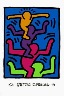 Keith Haring - Bad Painting - Underground Style - The people tree.